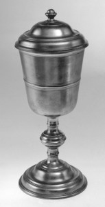 Pewter chalice, 1953.97