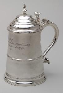 Revere silver tankard, 1957.859.1