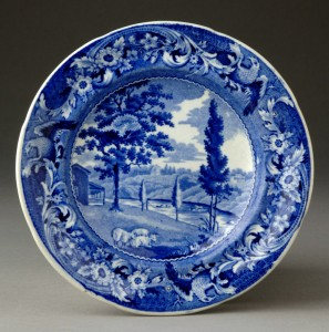 Pearlware plate, 1958.1890