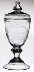 Pokal or drinking glass, cropped