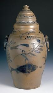 Stoneware cistern detail, 1959.1926