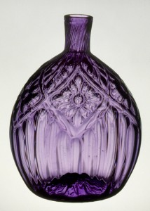 Glass flask, 1959.3144