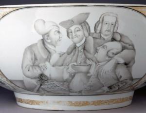 Porcelain punch bowl detail 2, 1960.503