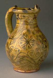 Slipware puzzle jug, 1960.620