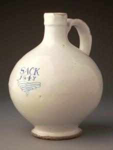Wine bottle or jug, 1960.0760