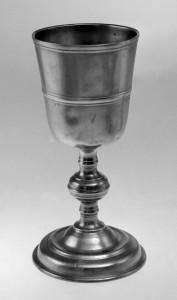 Pewter goblet, 1962.604