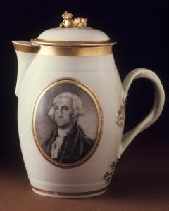 Porcelain cider jug, 1963.822