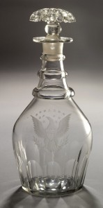 Glass decanter, 1963.875