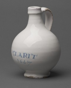 Wine bottle or jug, 1964.680