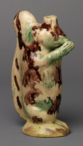 Earthenware flask, 1967.1632