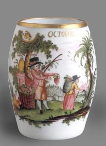 Glass mug, 1969.1428