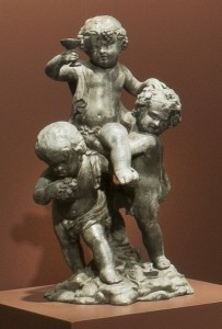 Infant Bacchus lead figure group 1969.3412.002