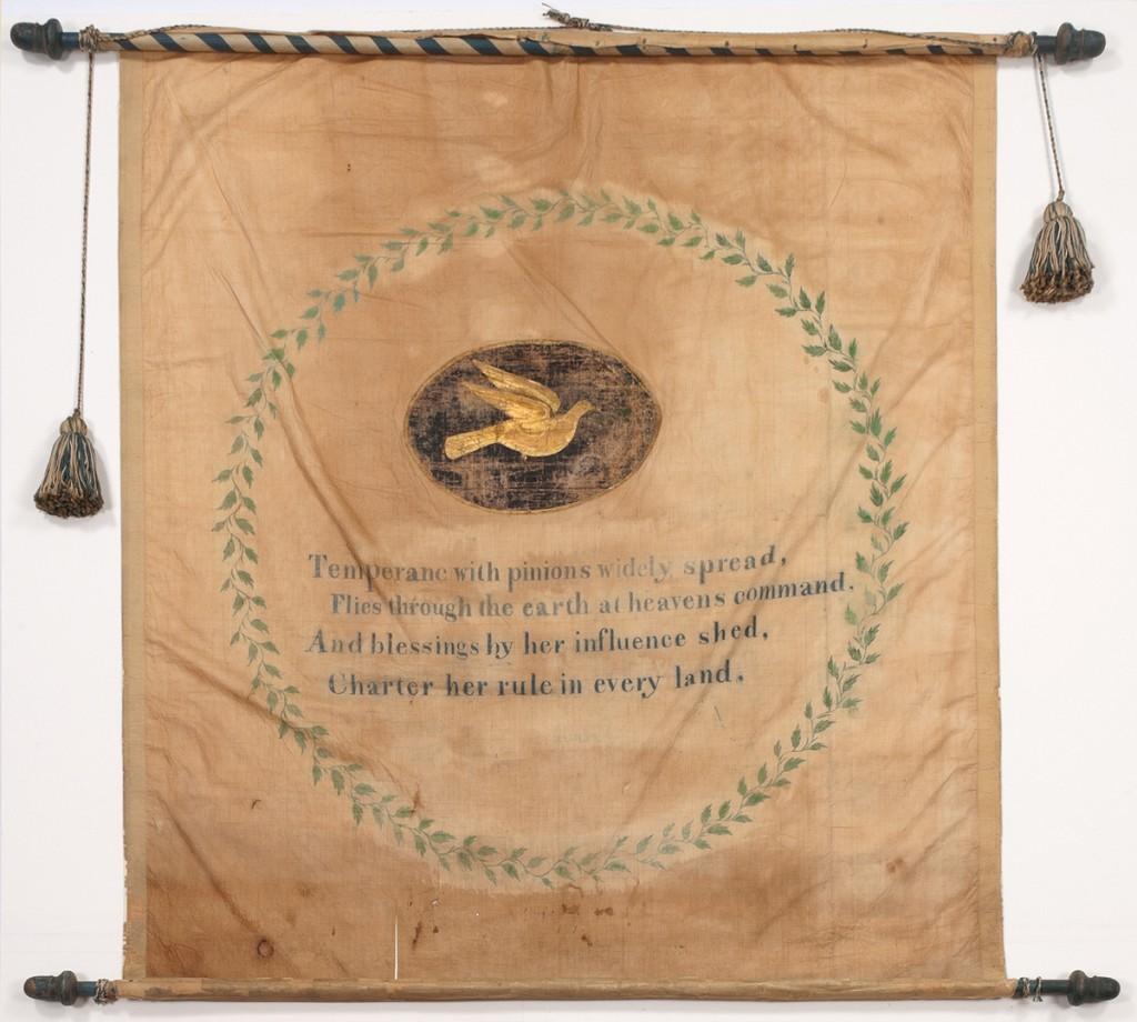 Temperance banner, 1969.7815