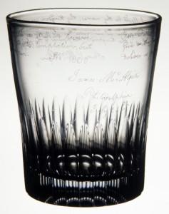 Glass tumbler, 1976.321