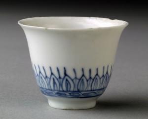 Porcelain wine cup, 1978.28