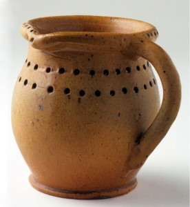 Earthenware puzzle jug, 1980.66