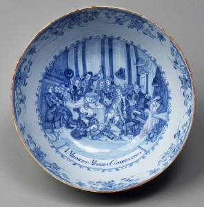 Delftware punch bowl, 1984.30