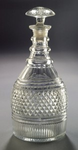Cut decanter, 1985.64.2