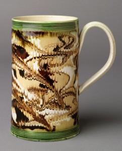 Dipped ware frog mug, 1992.40