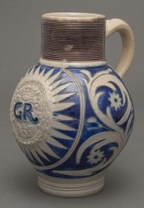 Stoneware jug, 1992.124