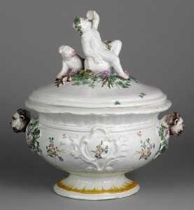 Infant Bacchus tureen, 1996.4.49
