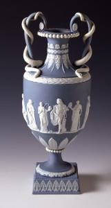Wedgwood jasperware vase, 1997.14