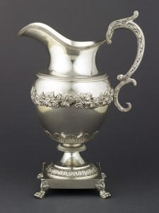 Silver pitcher, 2000.26