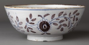 Delft punch bowl detail 2003.22.30