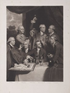 Print of Sir William Hamilton and the Society of Cincinnati, 2004.68.34