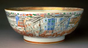 Chinese hong punch bowl, 2005.37