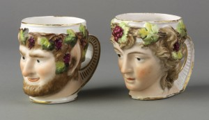 Derby porcelain mugs, 2008.11.21-.22