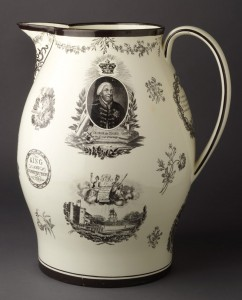 Creamware jug, 2009.23.18