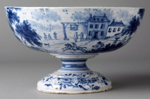 Delft punch bowl, 2011.7.3