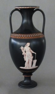 Wedgwood encaustic vase, 2011.19.2