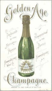 Hammondsport wine ad, 68x155.46