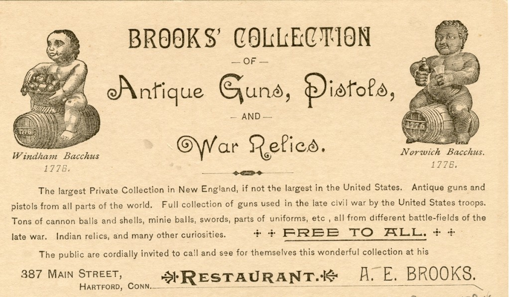 Brooks Collection trade card, Col. 9 68x164.584