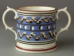Dipped ware frog mug, Katz loan