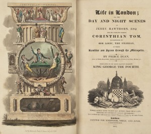 Life in London frontis & title p., PR4649 E281