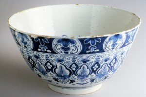 Delft punch bowl, 1960.1014