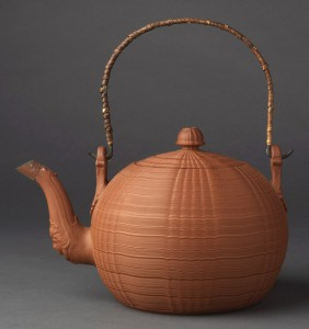 Stoneware punch pot, 2009.29